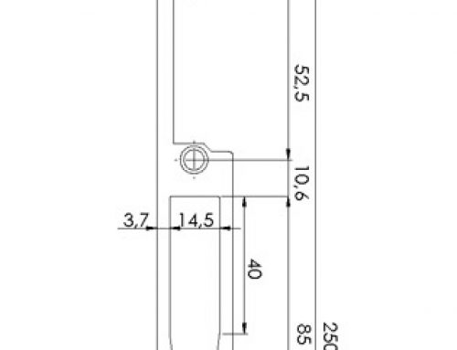 Face plate T22mm