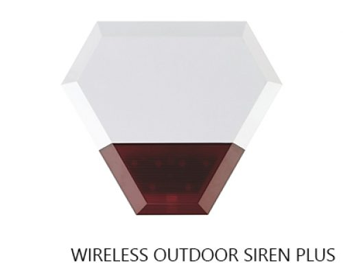 WIRELESS OUTDOOR SIREN PLUS