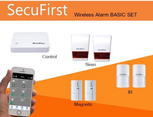SecuFirst Wireless Alarm BASIC SET
