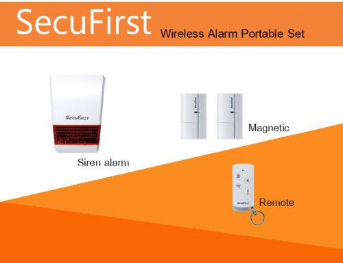SecuFirst Wireless Alarm Portable Set