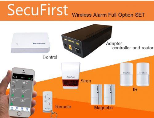SecuFirst Wireless Alarm Full Option SET
