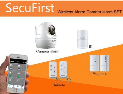 SecuFirst Wireless Alarm Camera alarm SET