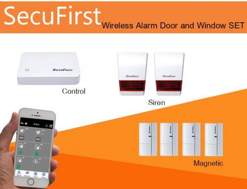 SecuFirst Wireless Alarm Door and Window SET